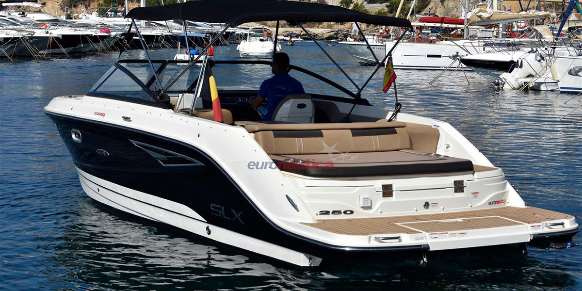 Sea Ray SLX 250 lleno